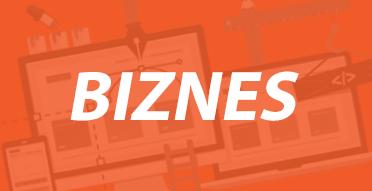 idealnie dopasowana grafika i funkcjonalność witryna - biznes